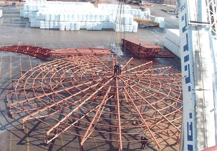 Carmel Ollefins roof frame